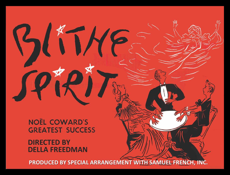 "The Uwharrie Players Present ""Blithe Spirit"""